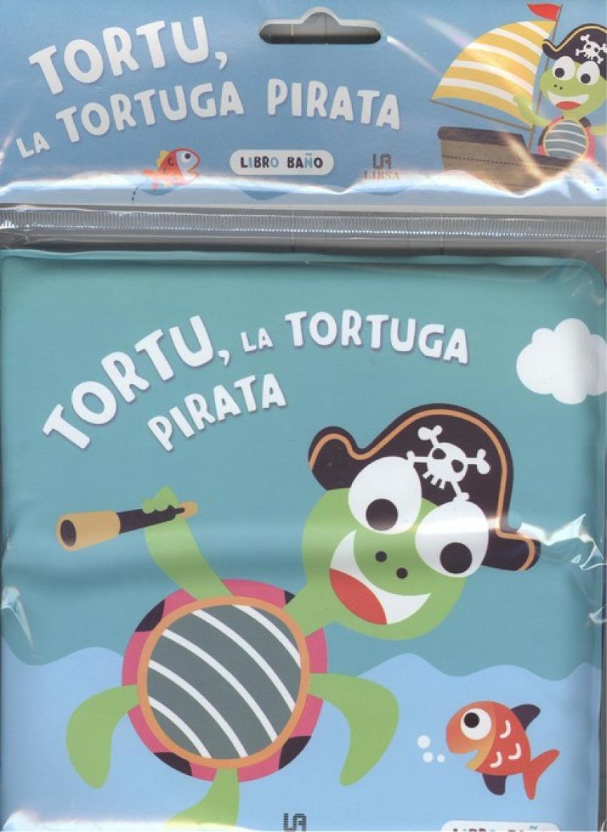 TORTU, LA TORTUGA PIRATA 9788466238908