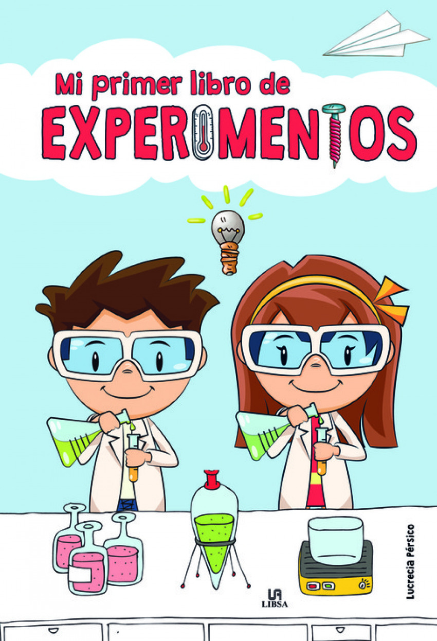MI PRIMER LIBRO DE EXPERIMENTOS 9788466239288