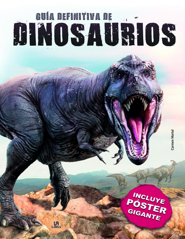 Gu¡a Definitiva de Dinosaurios 9788466239851