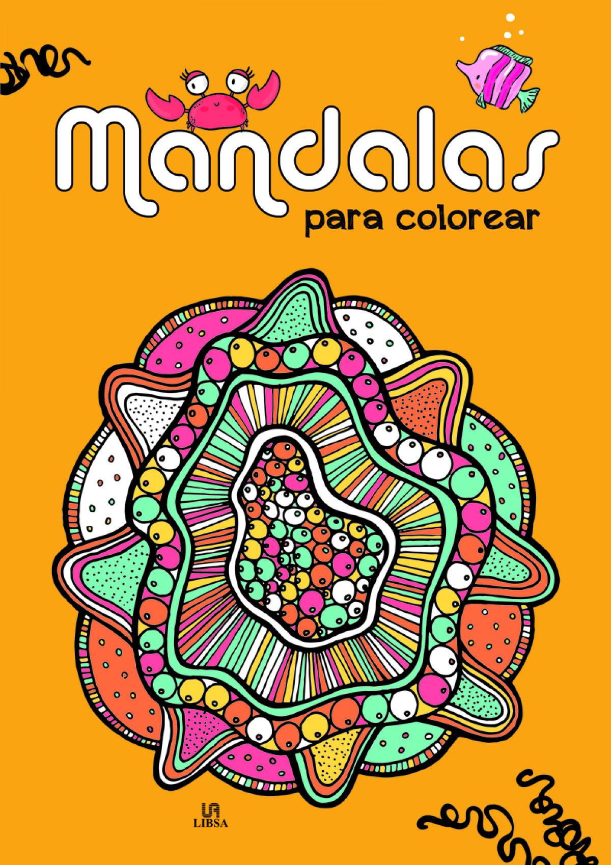 Mandalas para colorear 9788466240468