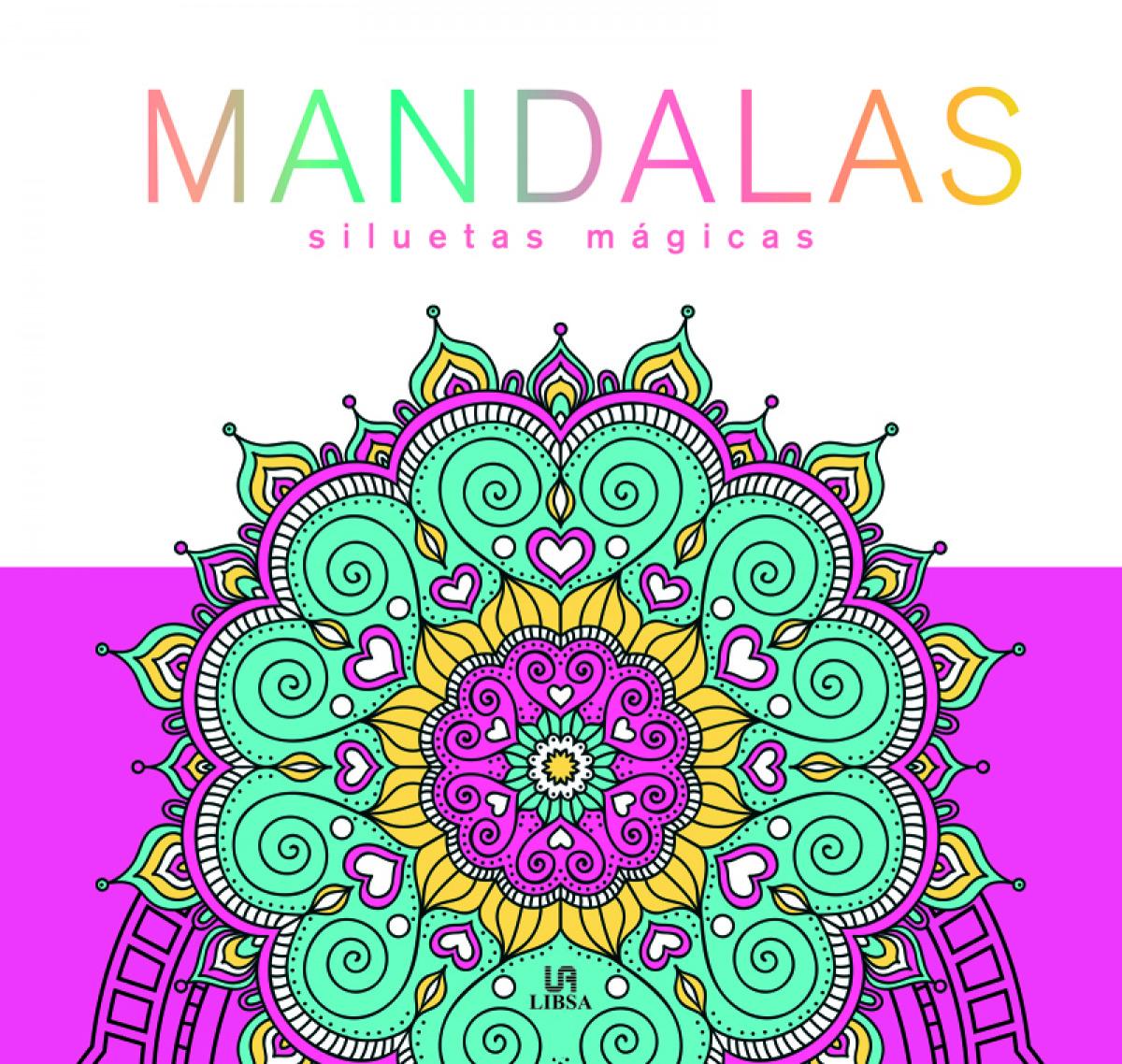 Mandalas Siluetas Mágicas 9788466240987
