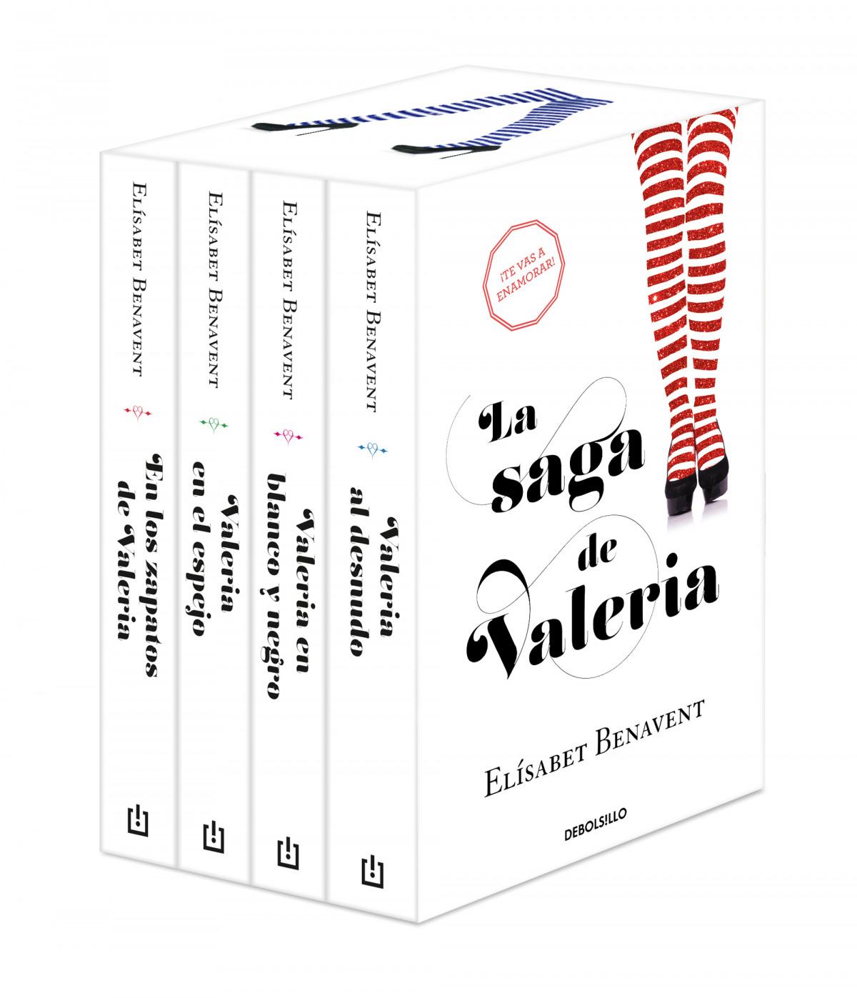 La saga de Valeria (edición pack) 9788466354127