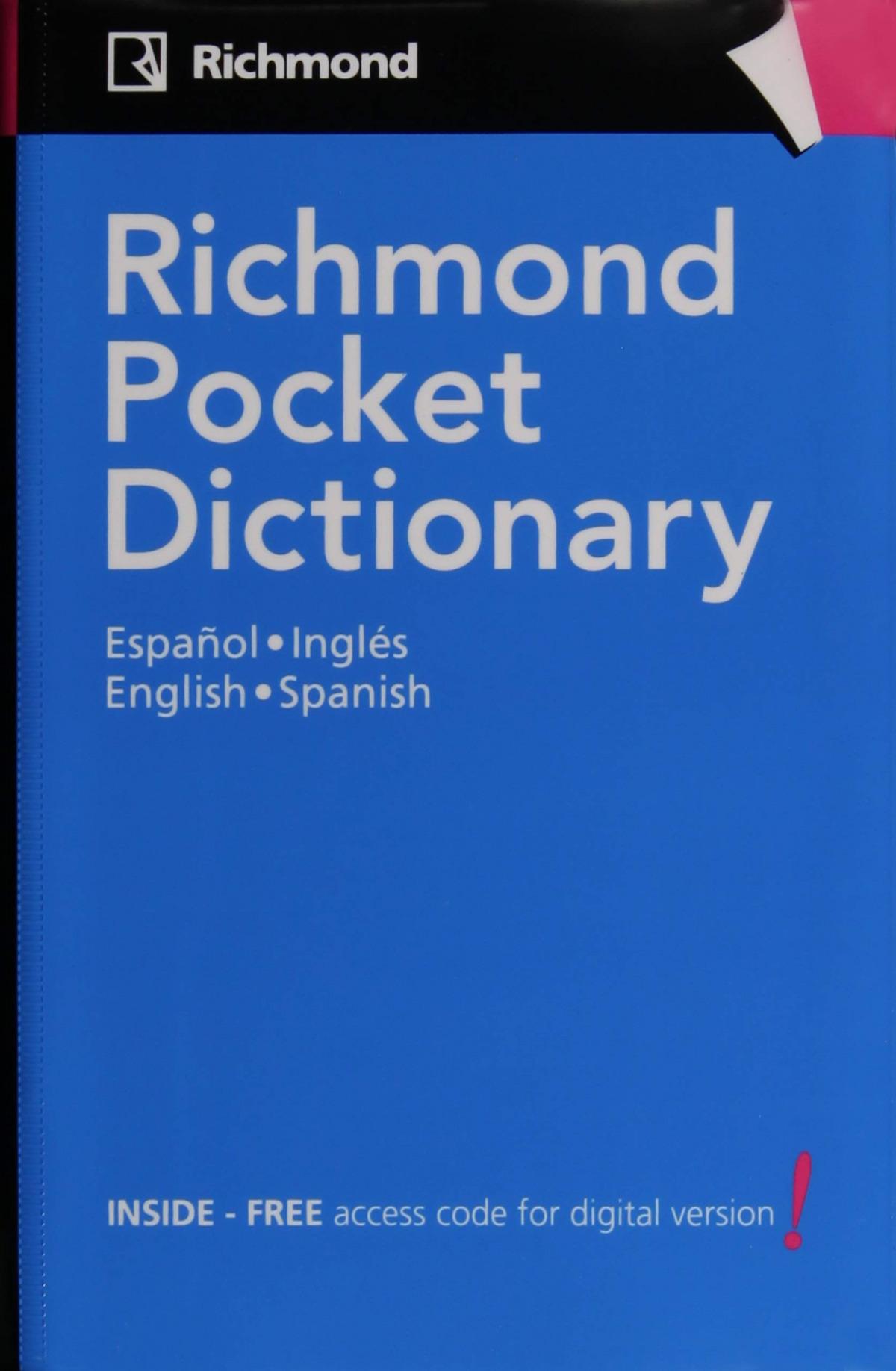Richmond pocket dictionary español/ingles 9788466814164
