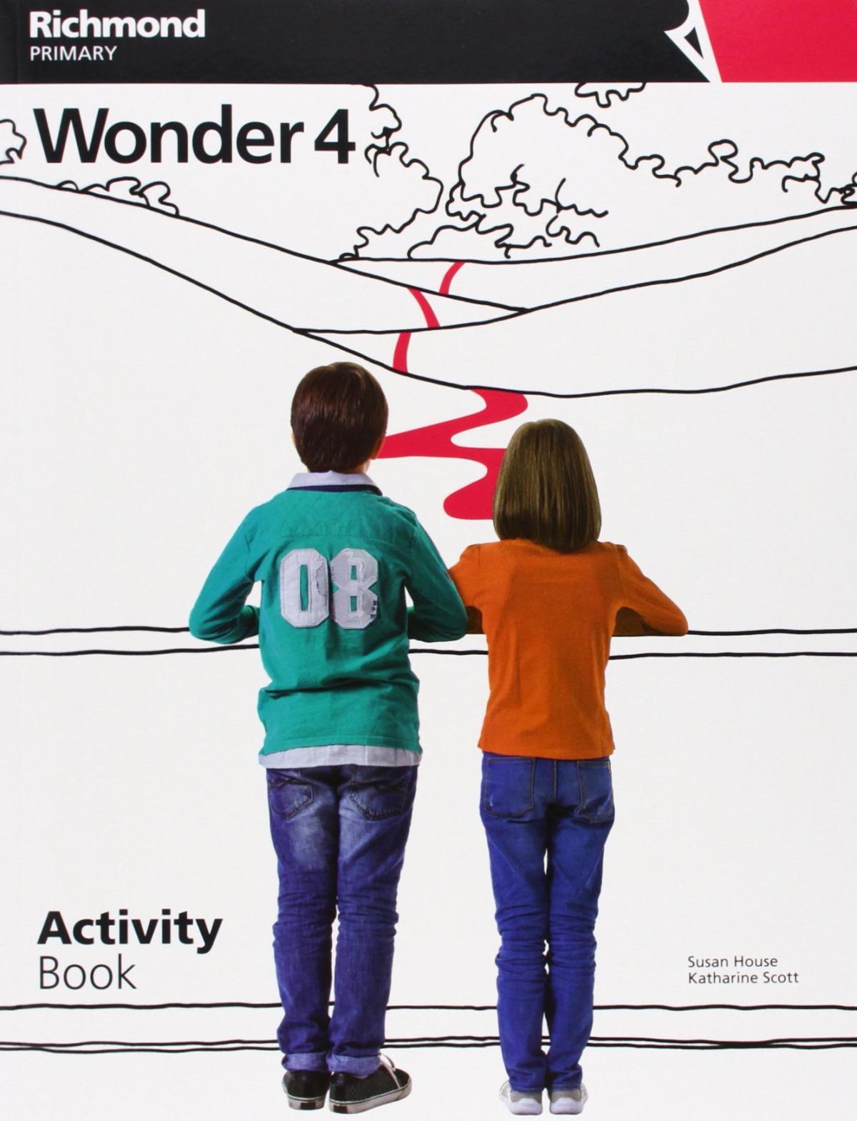 Wonder 4 activity book (+cd) 9788466820165