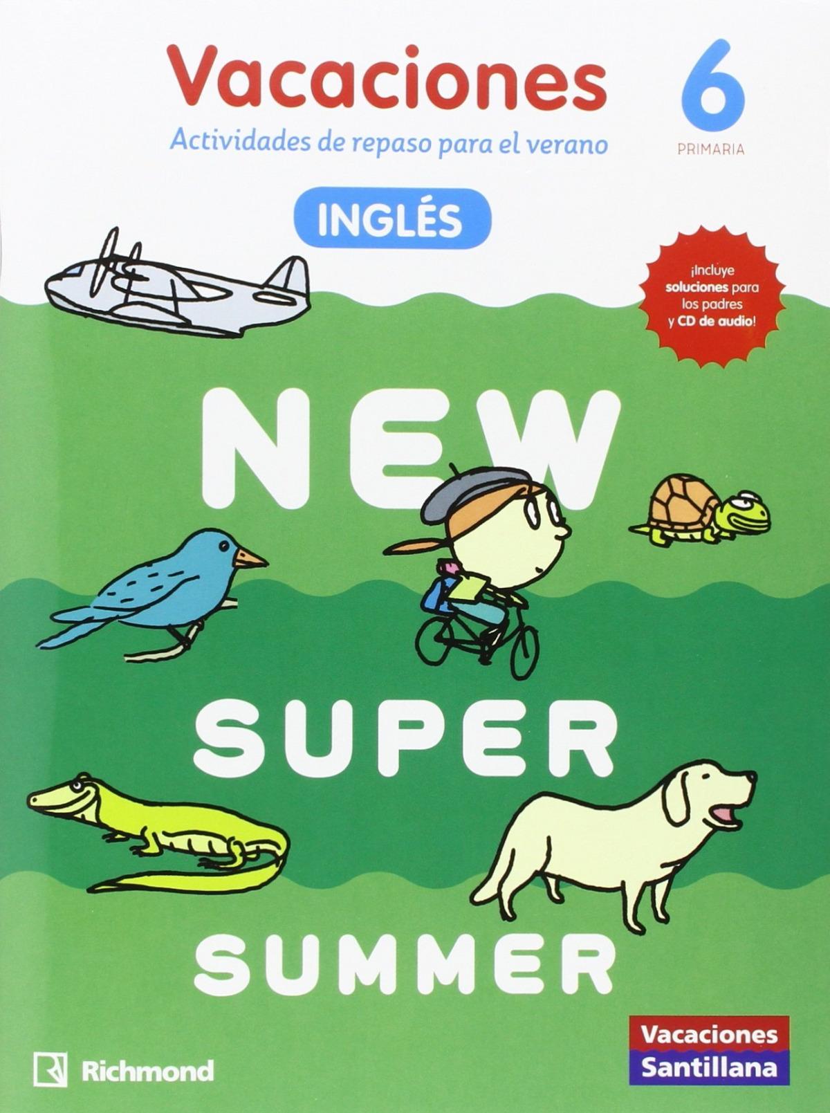 NEW SUPER SUMMER 6o. primaria book + audio 9788466822978