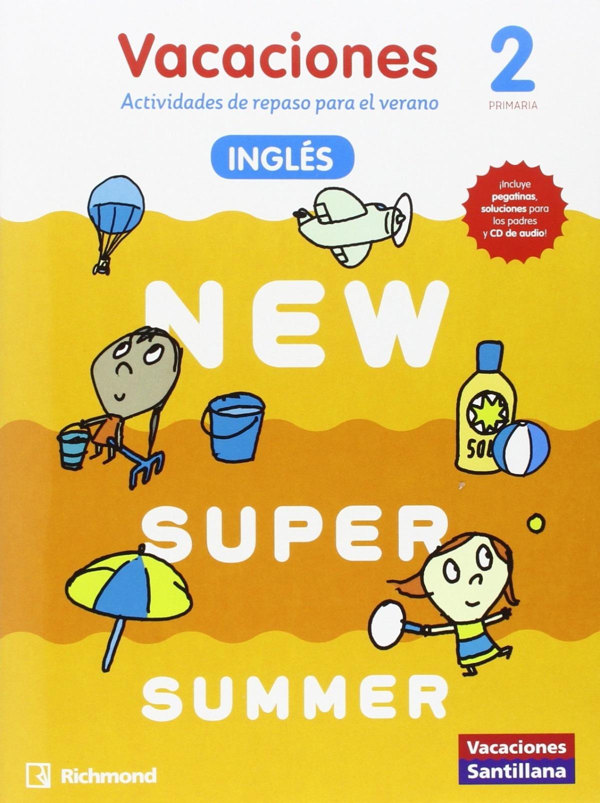 NEW SUPER SUMMER 2o. PRIMARIA BOOK  audio 9788466822992
