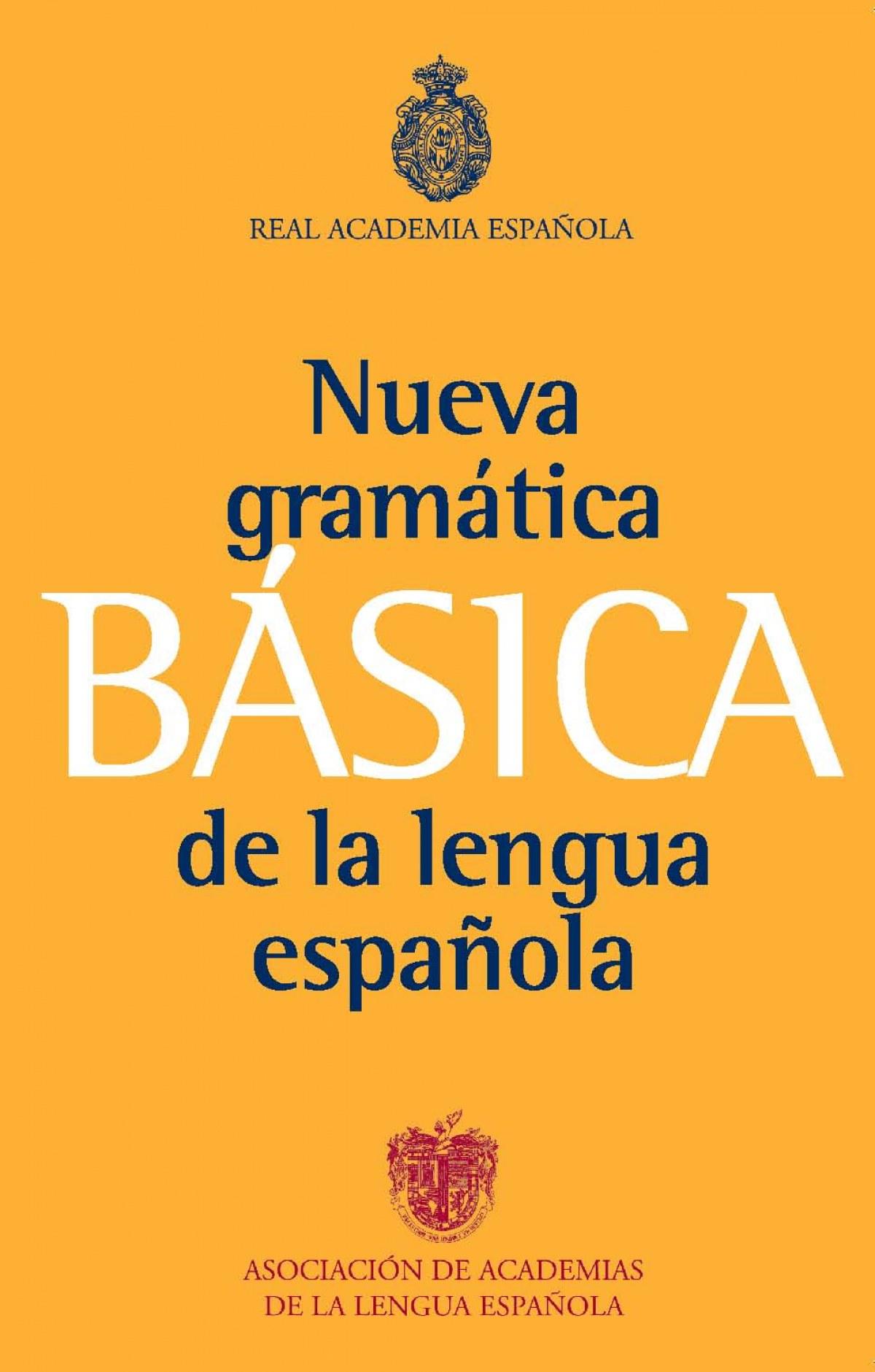 Gramática básica de la lengua española 9788467034714