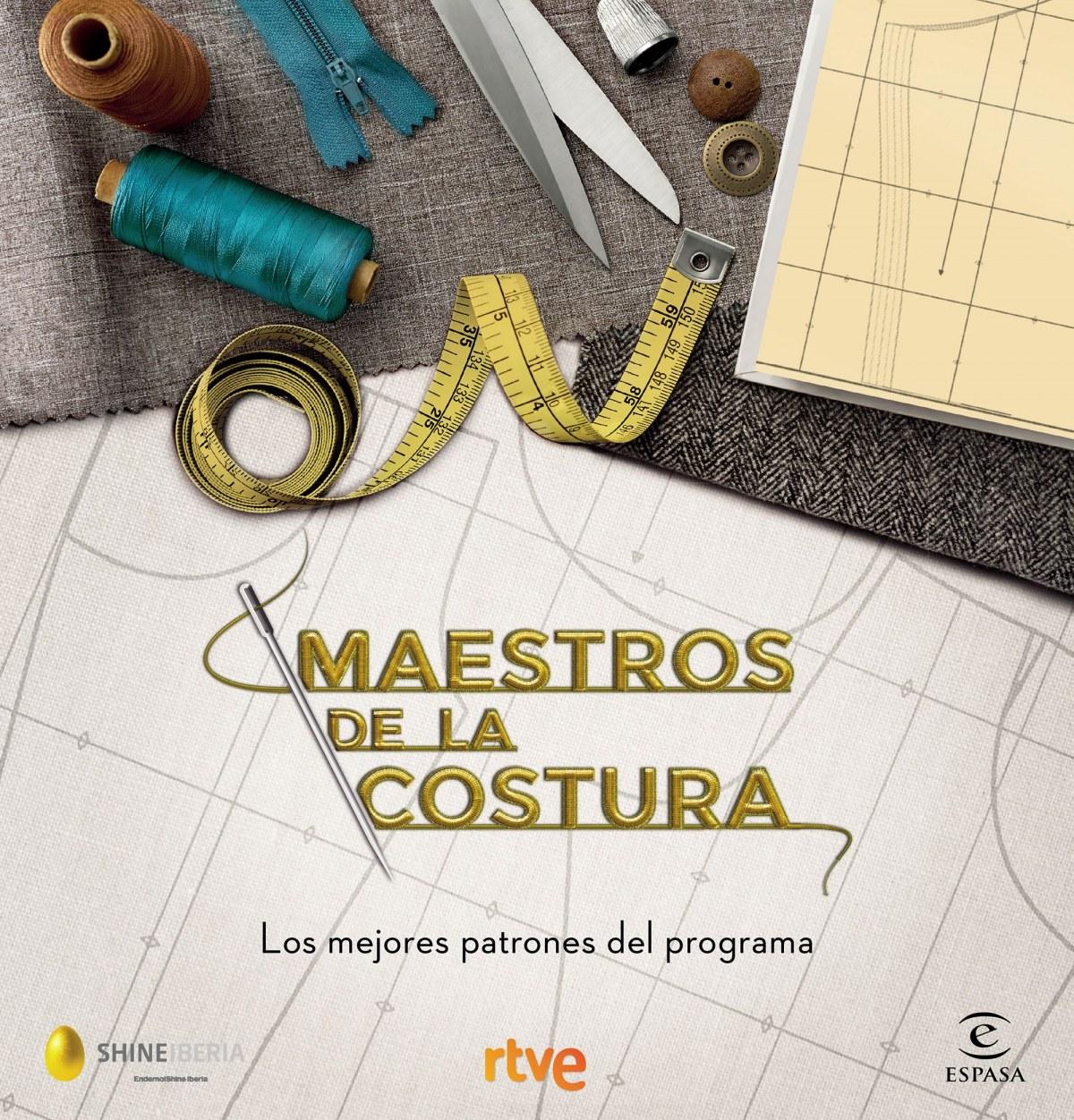 Maestros de la costura. Los mejores patrones del programa 9788467058024