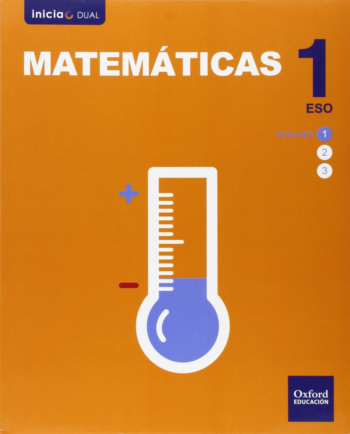 Matemáticas 1.o. ESO Inicia Dual. Libro del Alumno 9788467385830