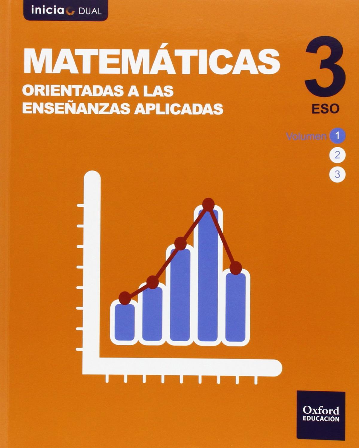 Matemáticas orientadas a enseñanzas aplicadas Pack 3.o. ESO I 9788467392975