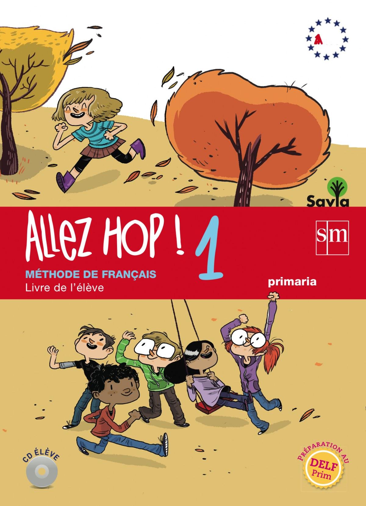 frances allez hop! 5o..prim.(livre) *savia* 9788467562637