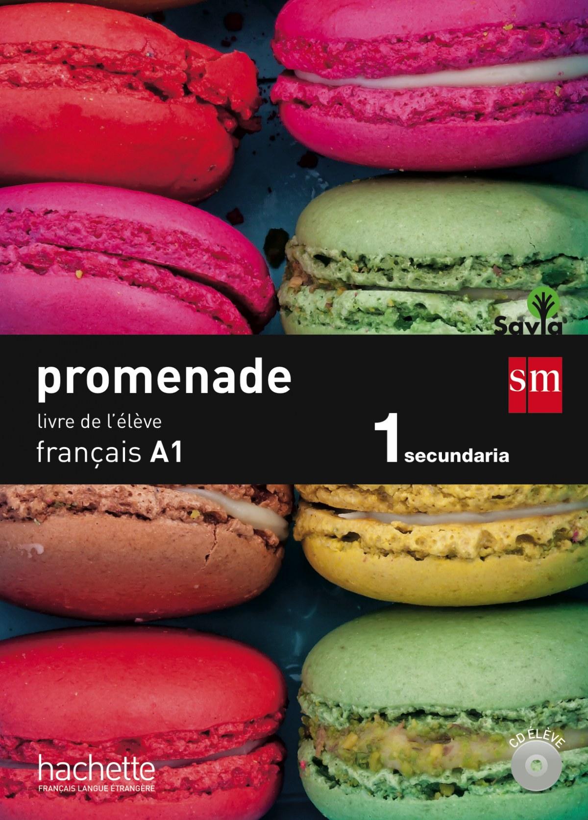 Promenade A1 Livre) 1o.ESO Frances 9788467562644