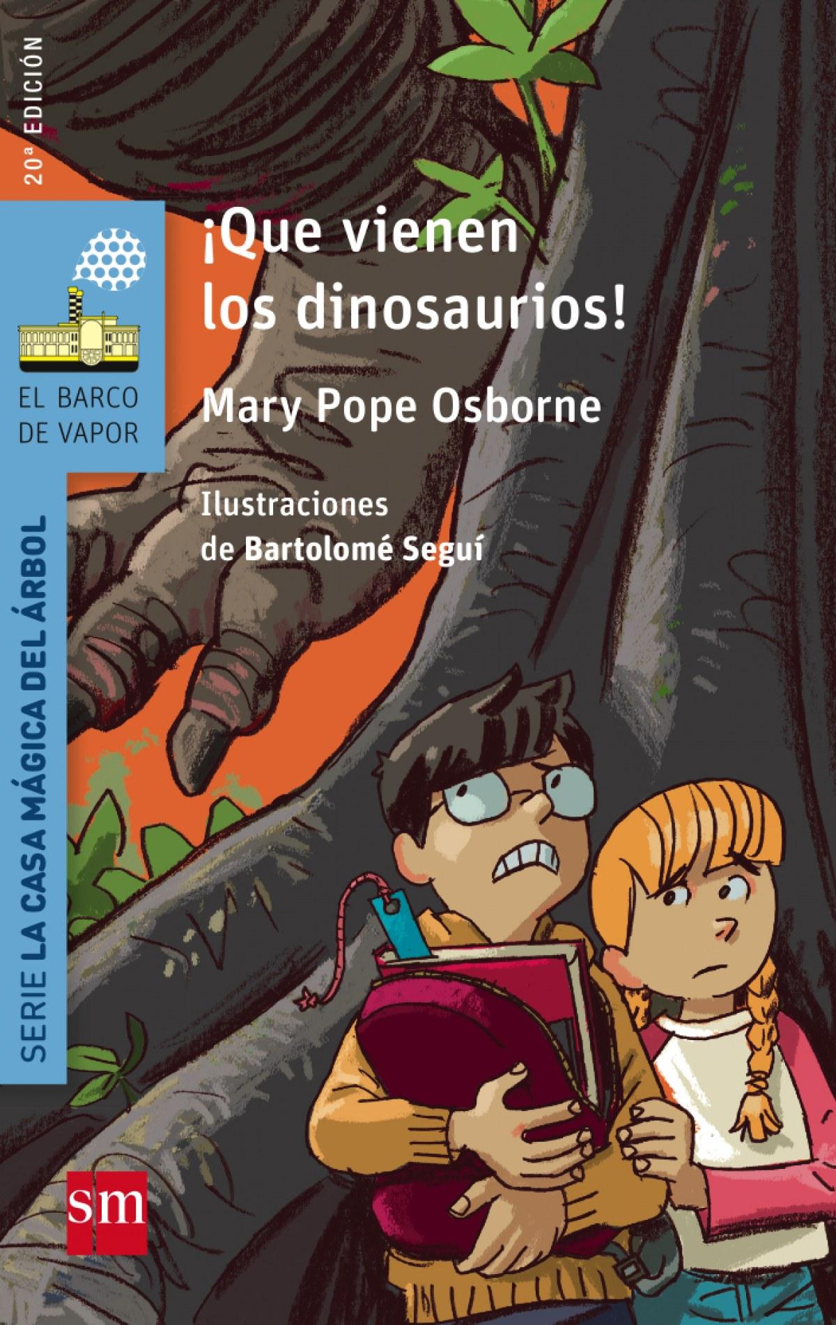 !Que vienen los dinosaurios! 9788467577020