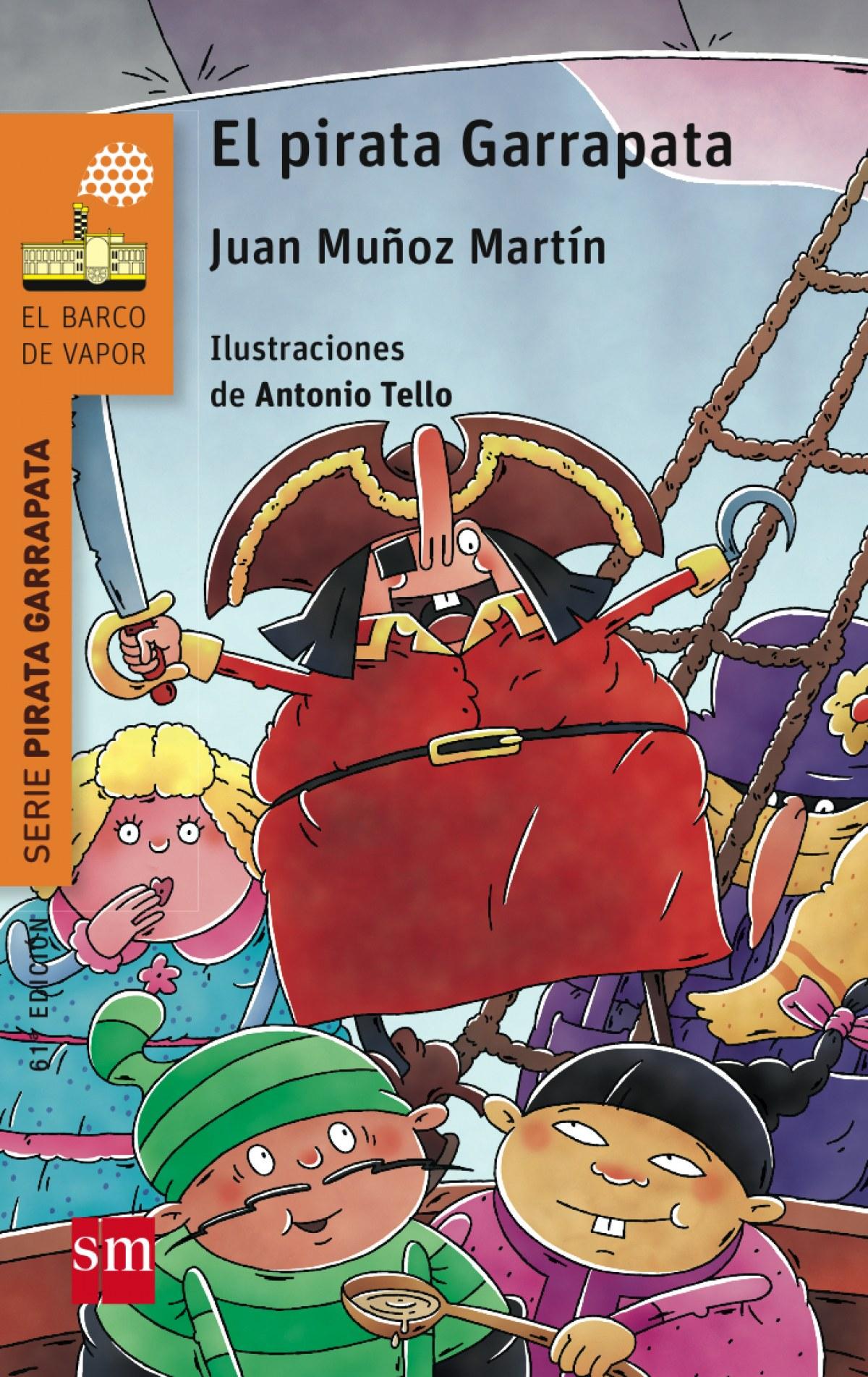 El pirata garrapata 9788467577112