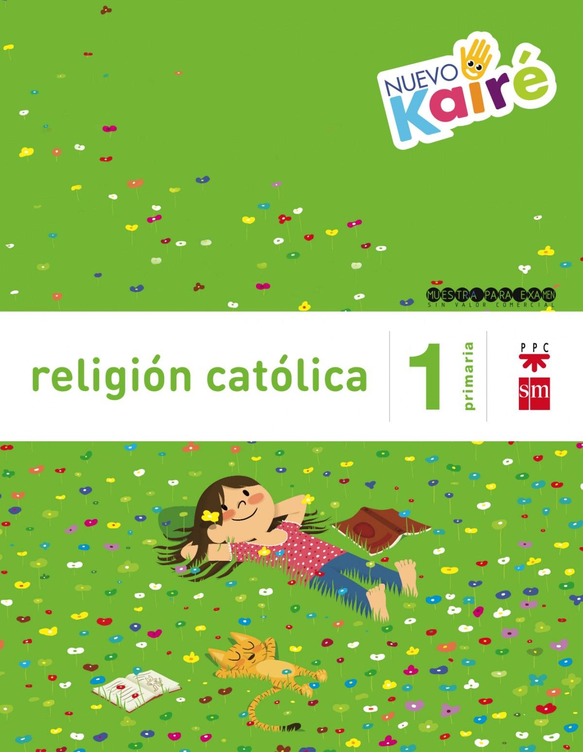 Religión nuevo kairé 1o. primaria savia 9788467580839