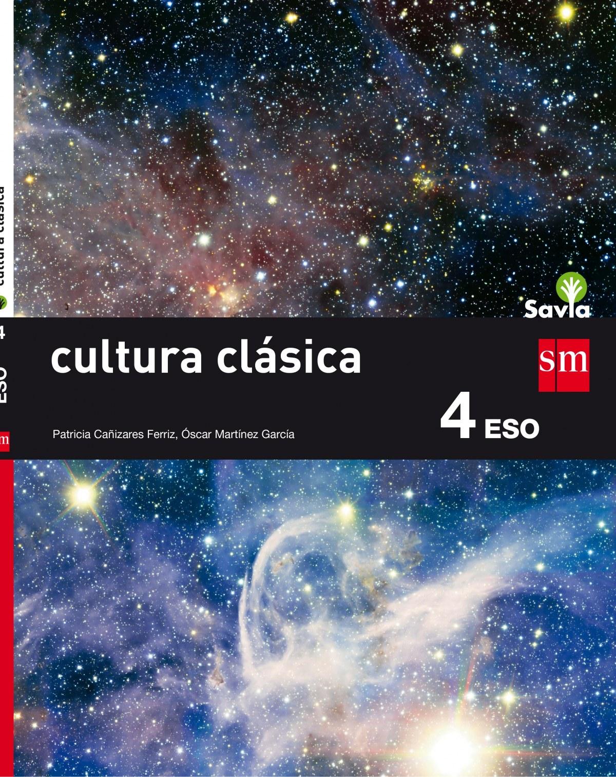 Cultura clásica II 4o.eso savia 2016 9788467587036