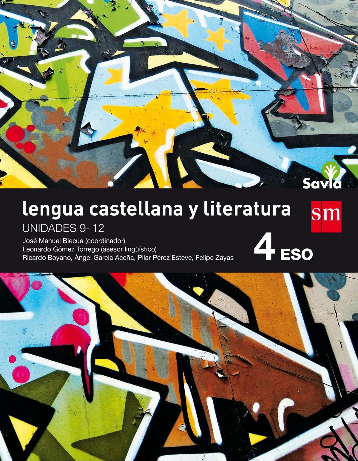 Lengua literatura 4o. eso trimestral savia 2016 9788467587074