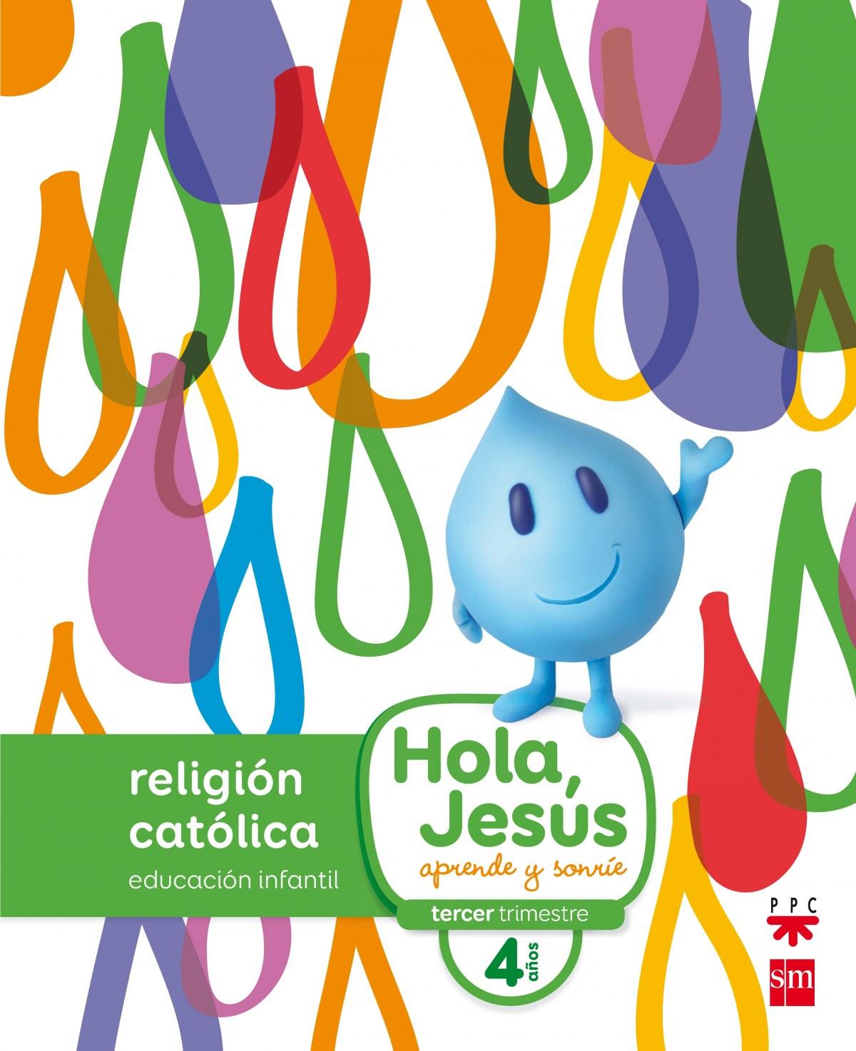 nuevo hola jesus 4 años religión infantil 9788467587272