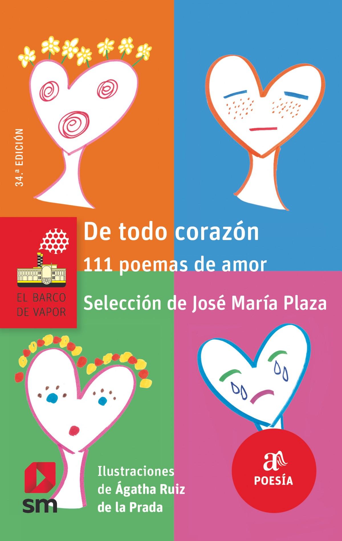 DE TODO CORAZÓN 111 POEMAS DE AMOR 9788467591583