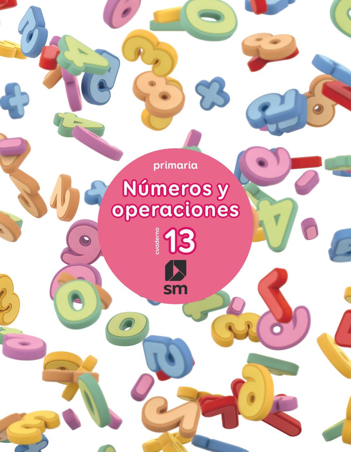 Cuaderno números y operaciones 13 6o. primaria 2017 9788467593105