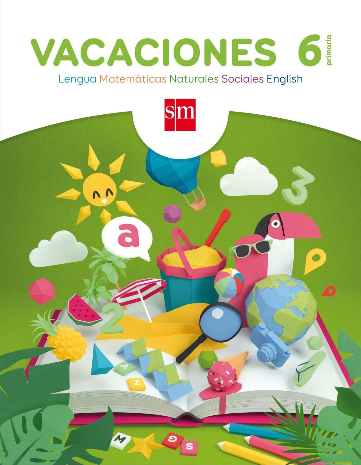 Vacaciones 6o. Primaria 9788467593150