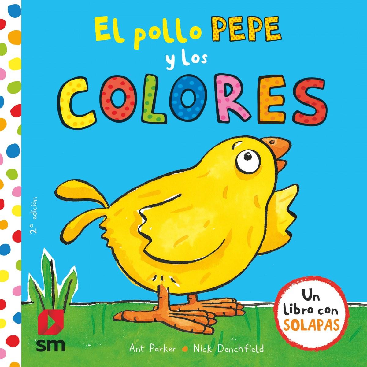 EL POLLO PEPE Y LOS COLORES 9788467593389
