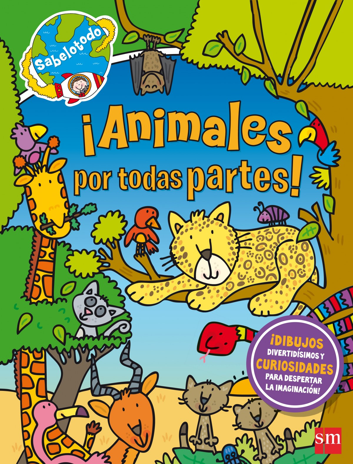 ANIMALES POR TODAS PARTES! 9788467596991