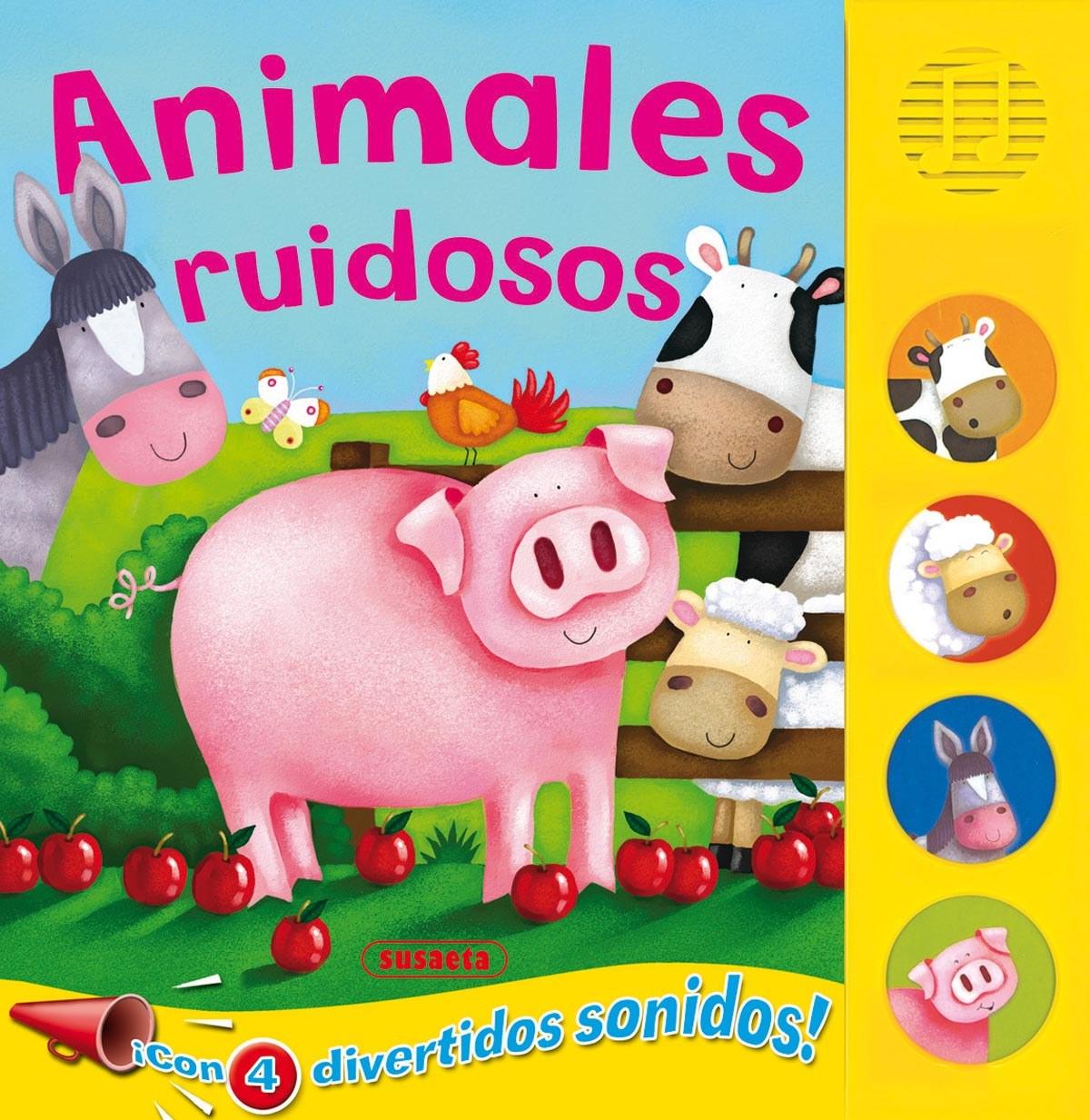 Animales ruidosos (Botones ruidosos) 9788467702712