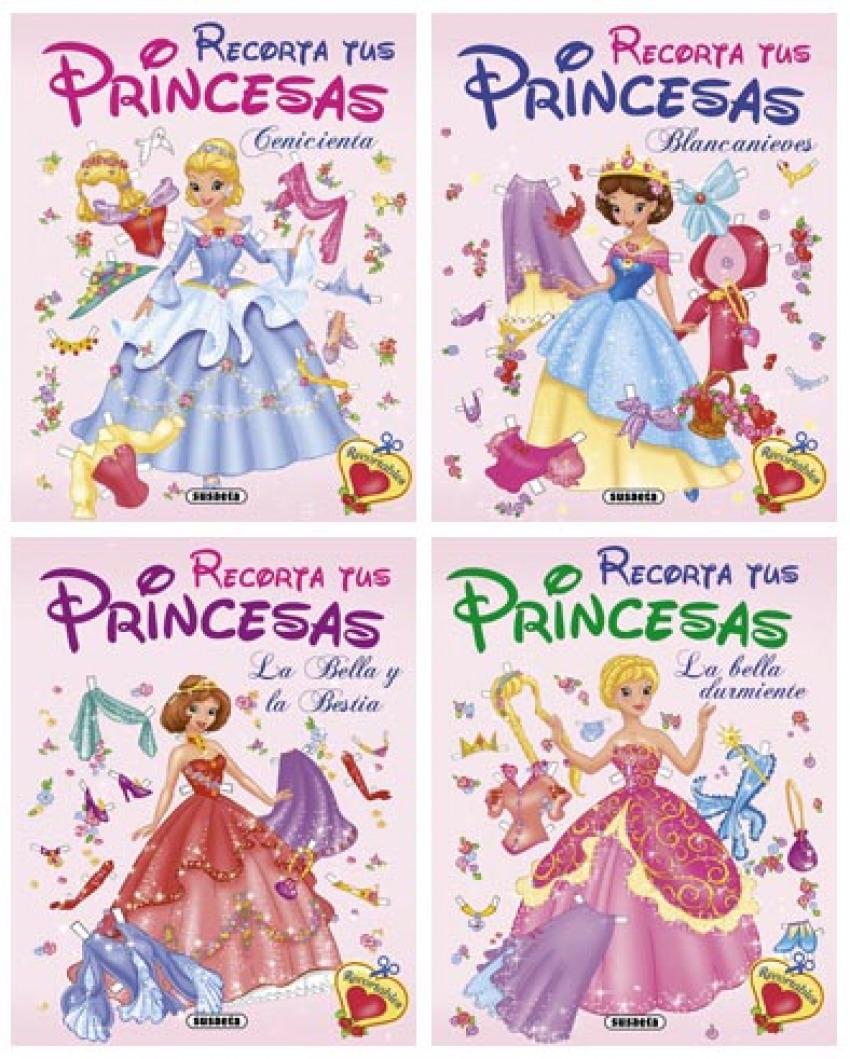 Recorta tus princesas (4 T¡tulos) 9788467703504