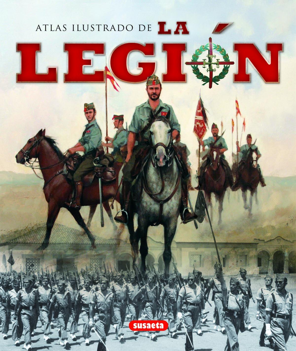Atlas ilustrado de La Legión 9788467710533