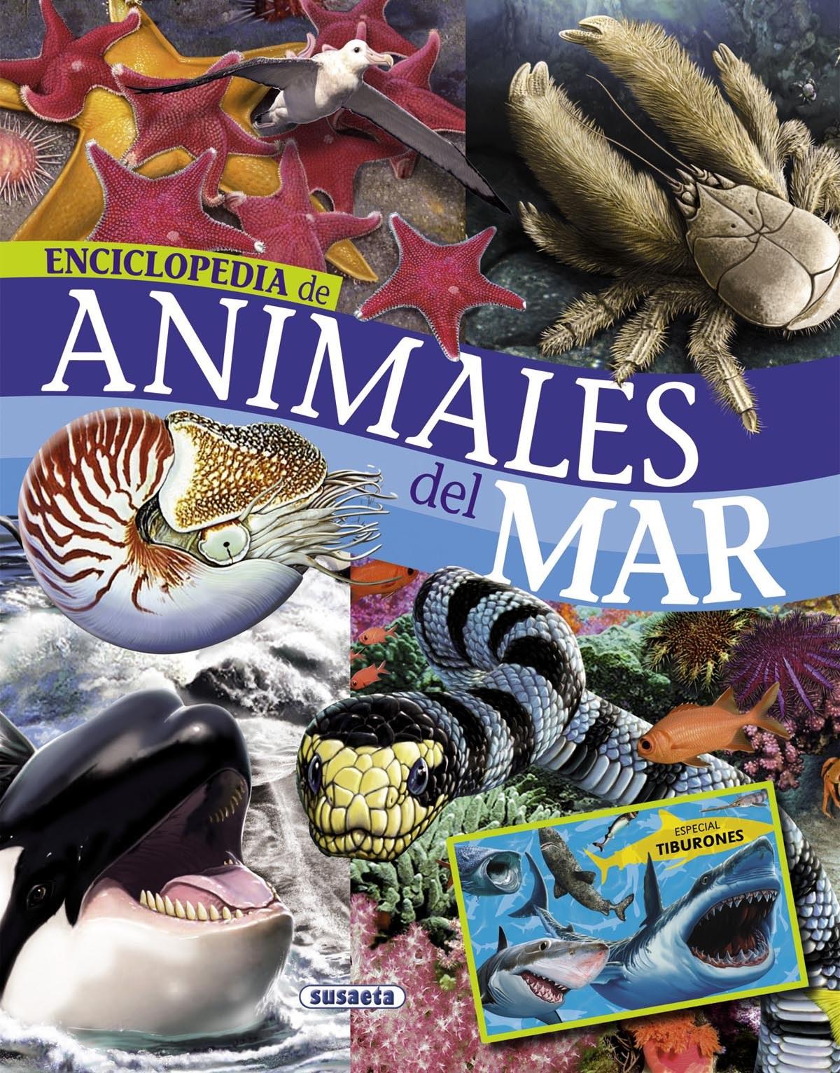 Enciclopedia de animales del mar 9788467715132