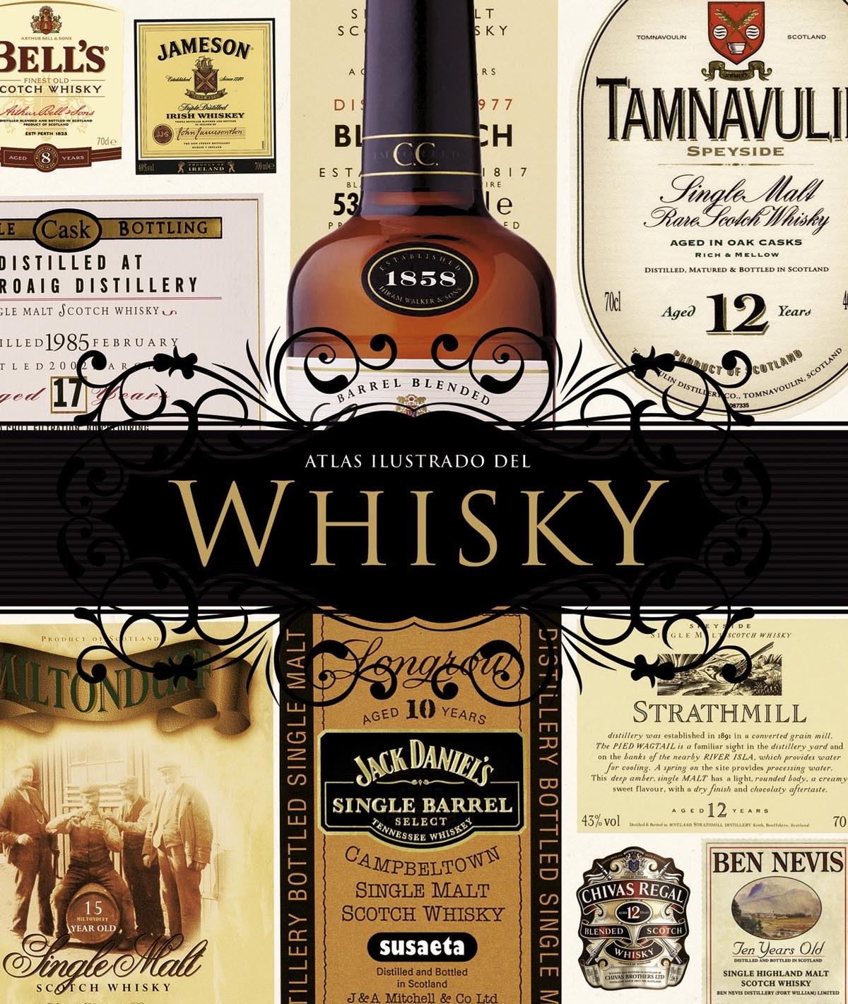 Atlas ilustrado del whisky 9788467716078