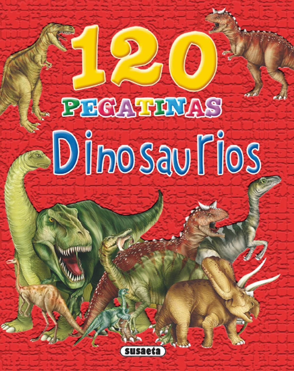 120 pegatinas de dinosaurios 9788467727876