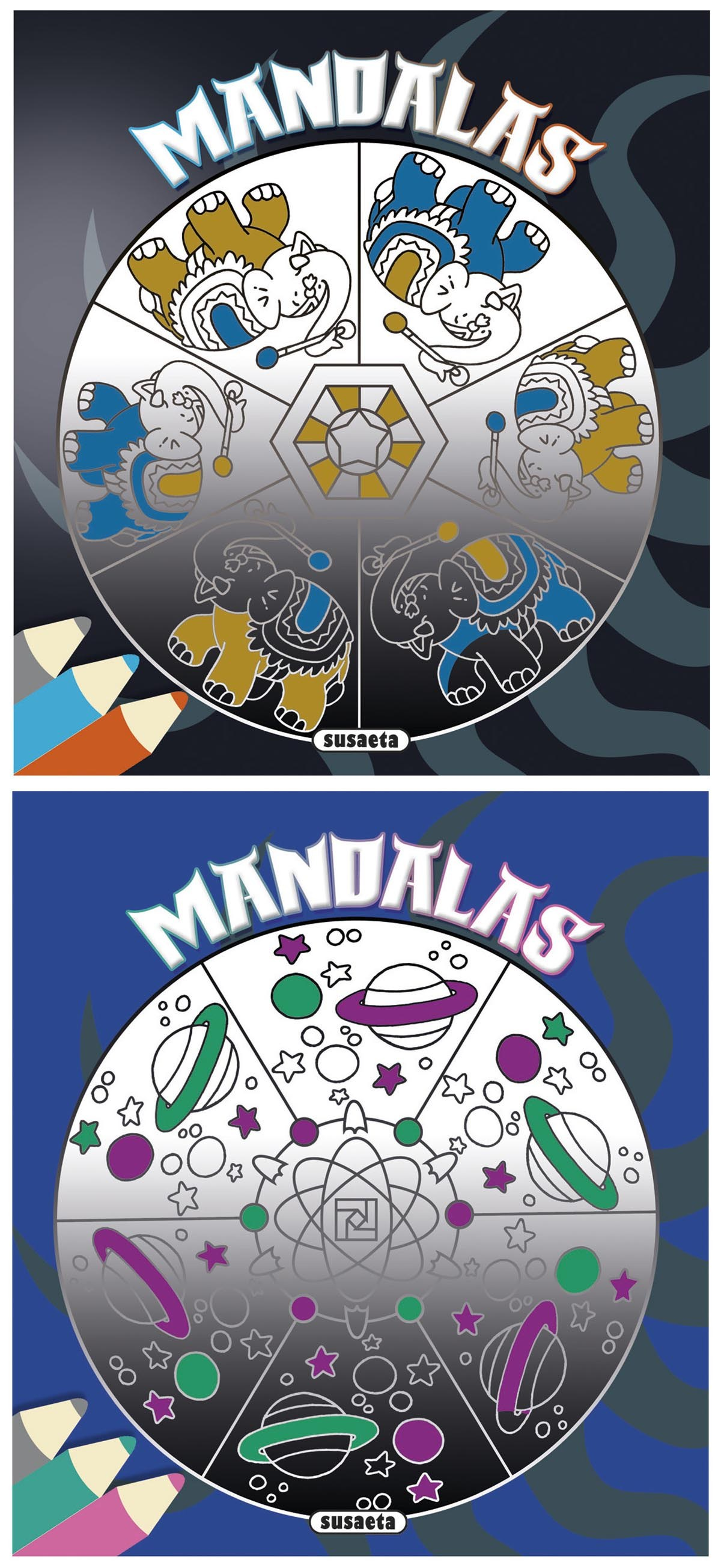 Mandalas para niños surtidos 9788467742084