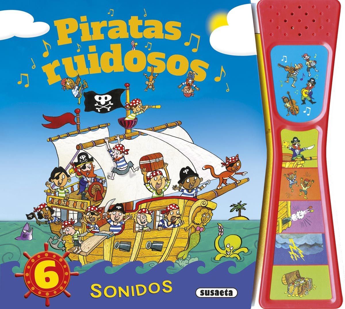 Piratas ruidosos 9788467744088