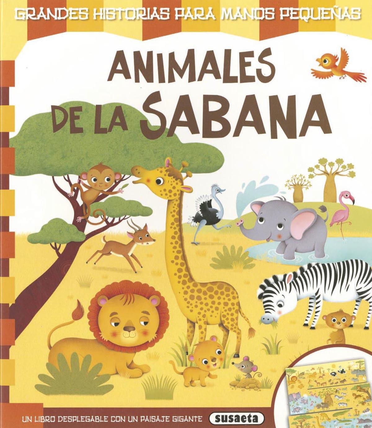 Animales de la sabana 9788467747003