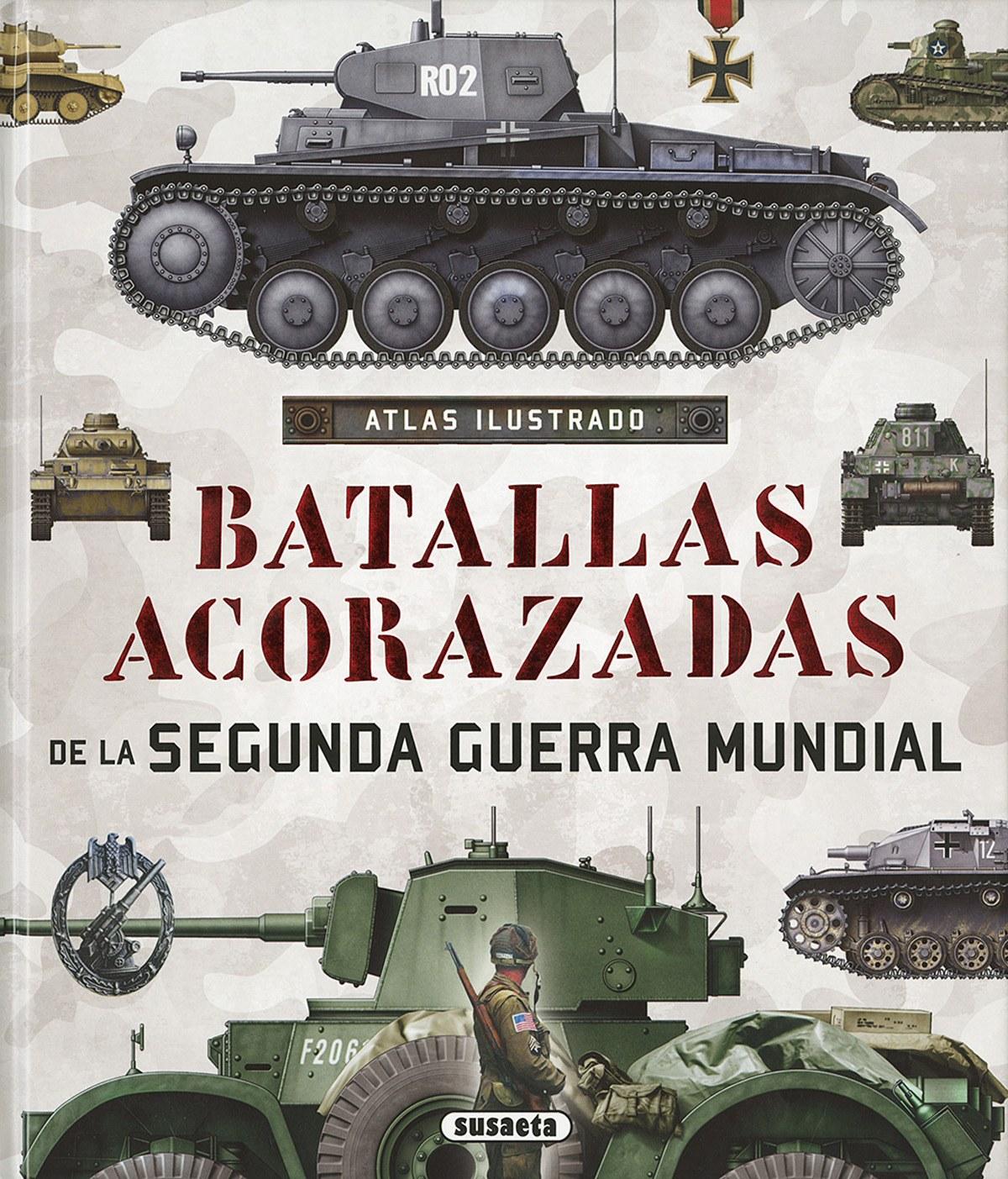 Batallas acorazadas segunda guerra mundial 9788467748352