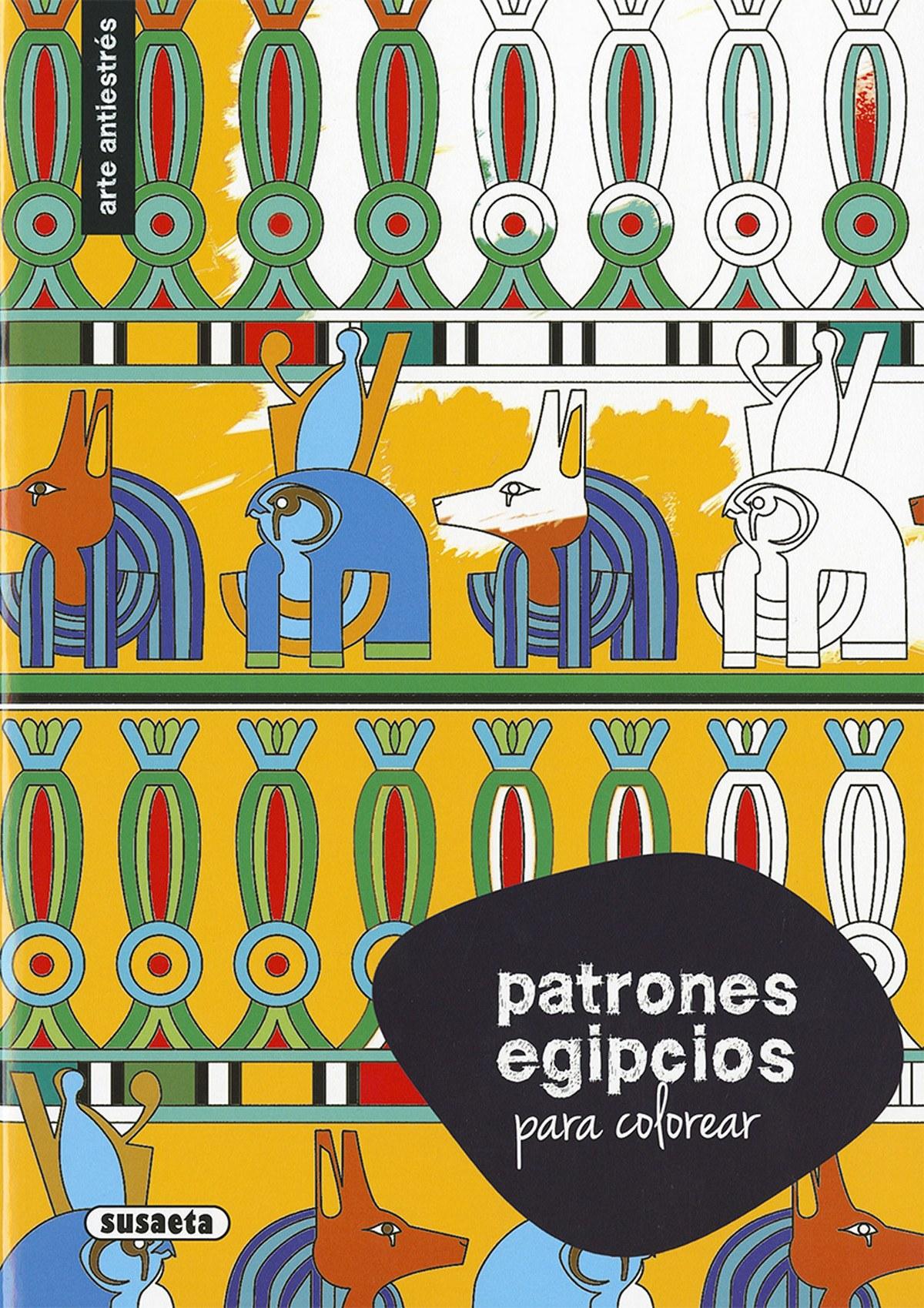 Patrones egipcios colorear 9788467750348