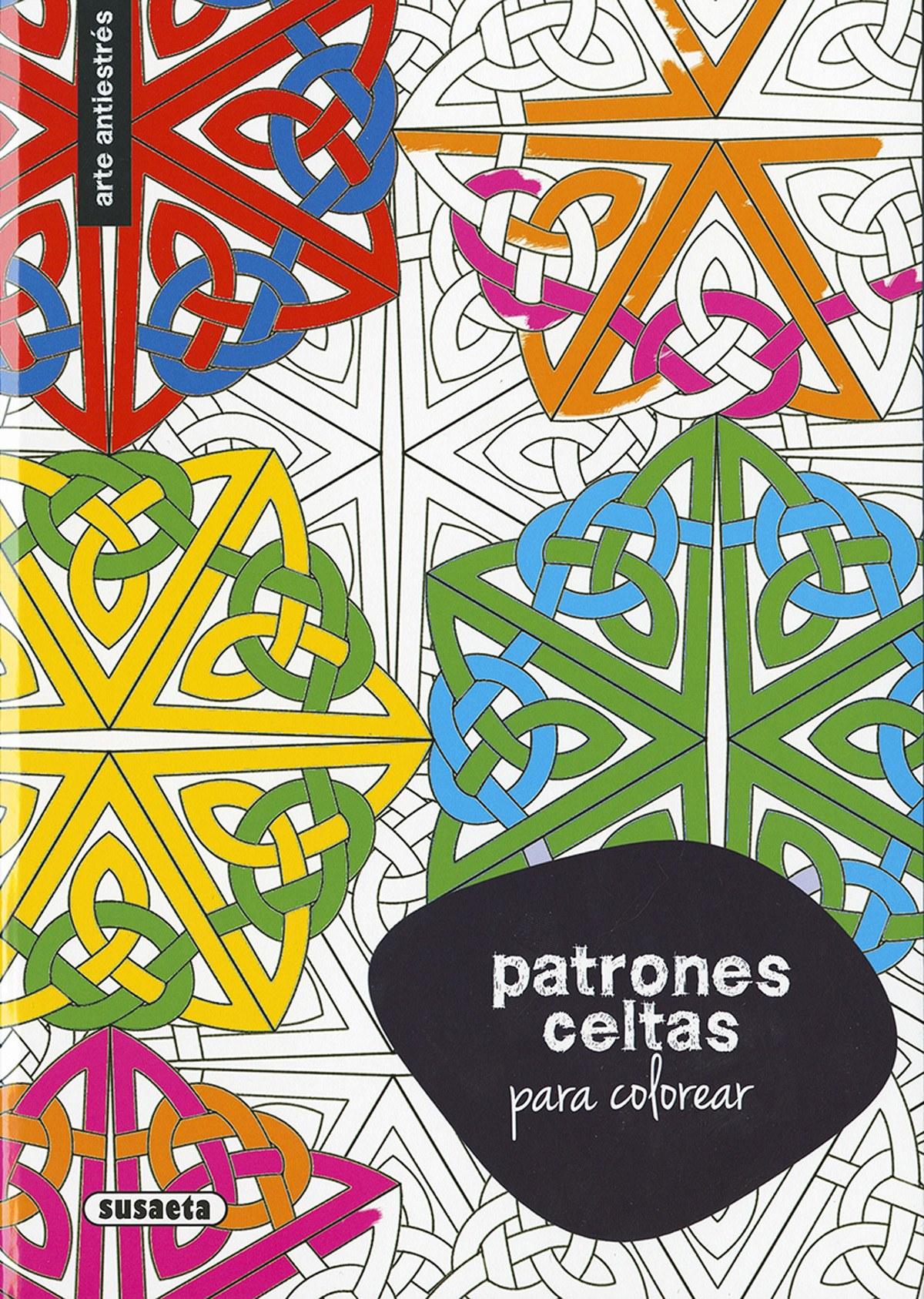 Patrones celtas para colorear 9788467750355