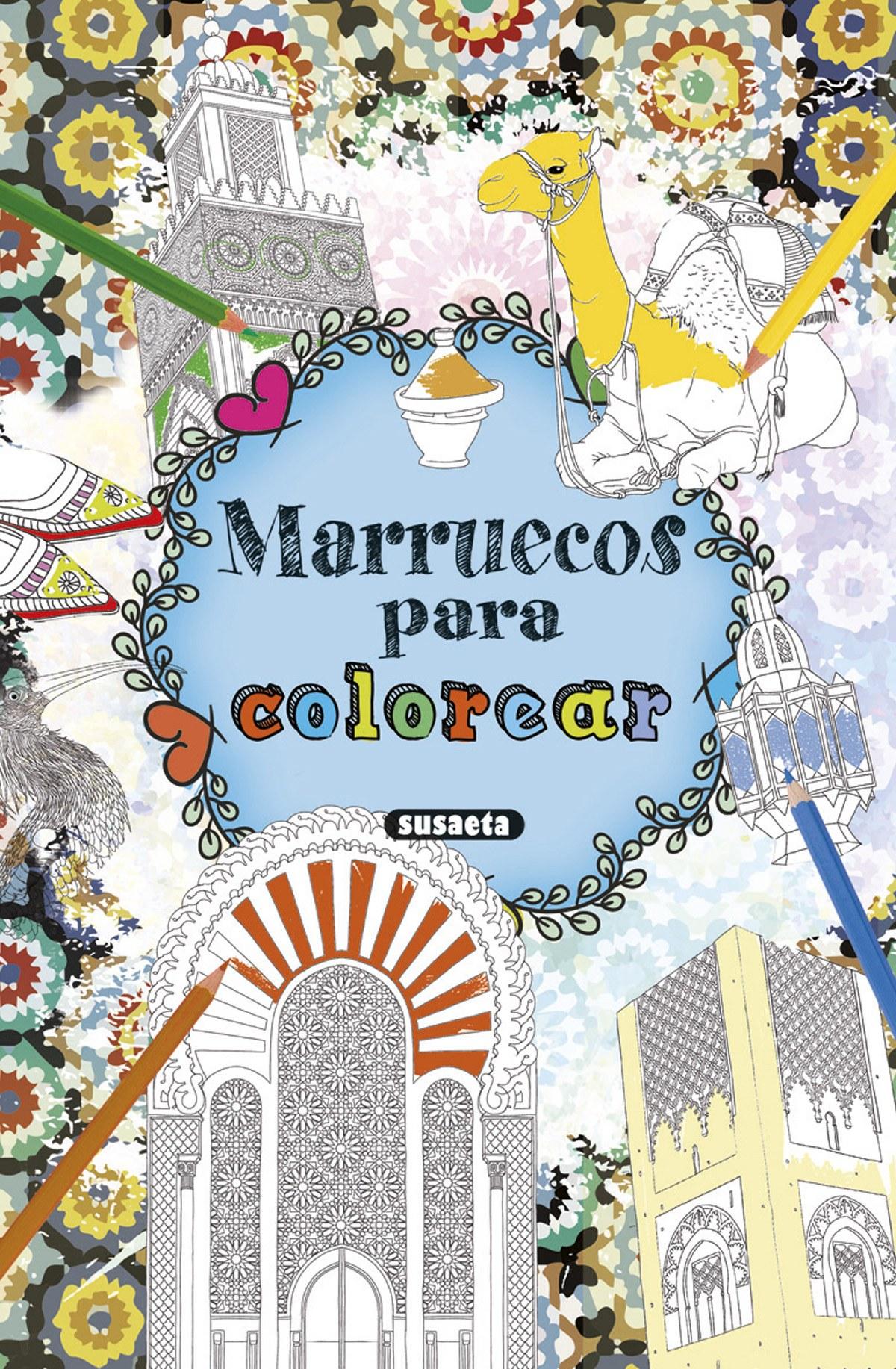Marruecos para colorear 9788467751789