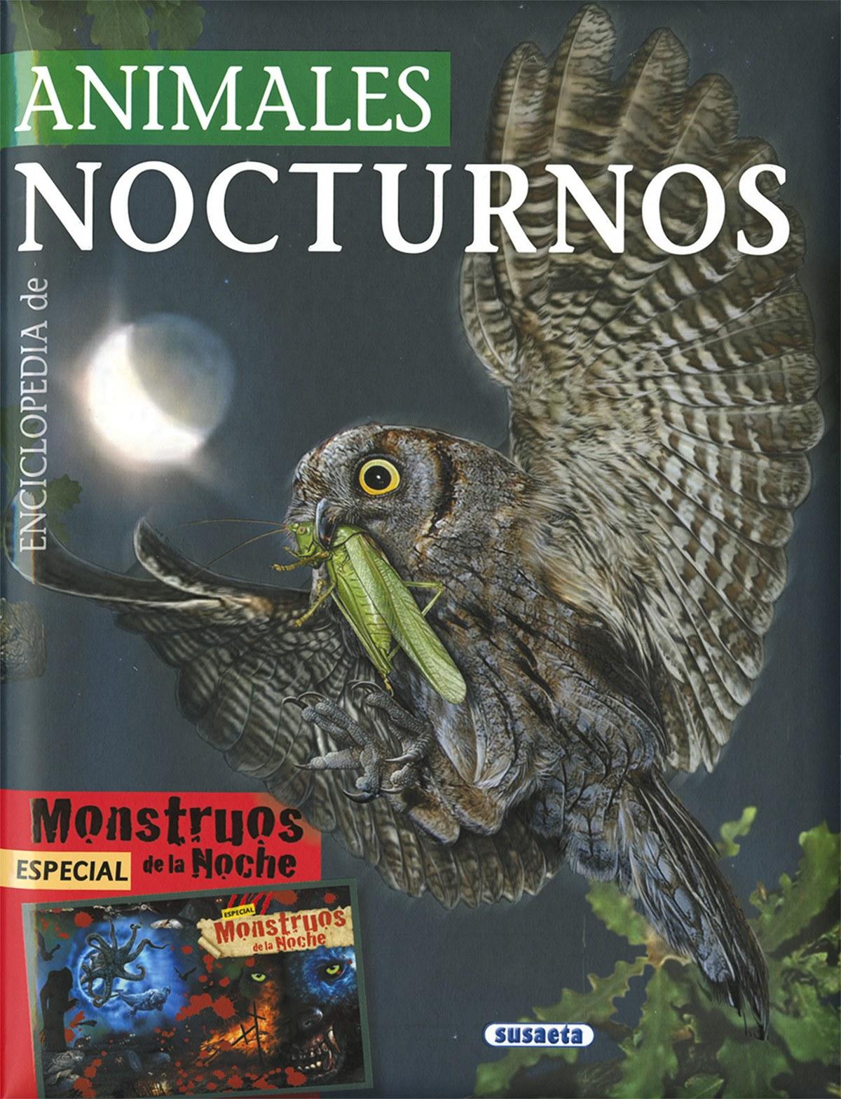 Enciclopedia de animales nocturnos 9788467753592