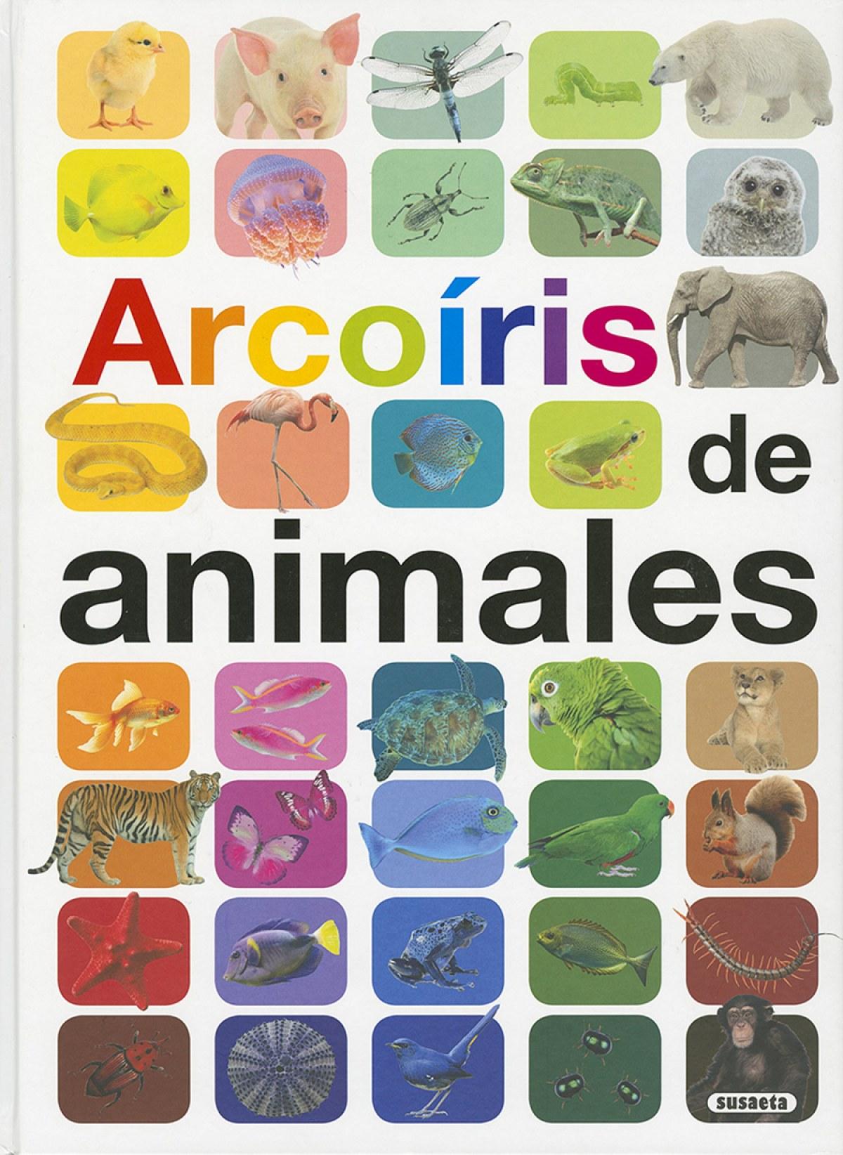 ARCOIRIS DE ANIMALES 9788467754308
