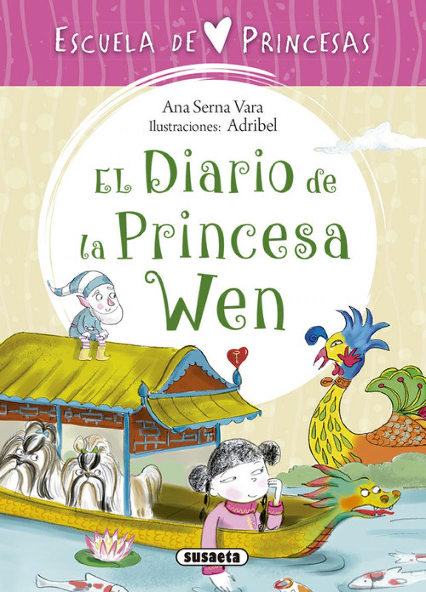 EL DIARIO DE LA PRINCESA WEN 9788467758313