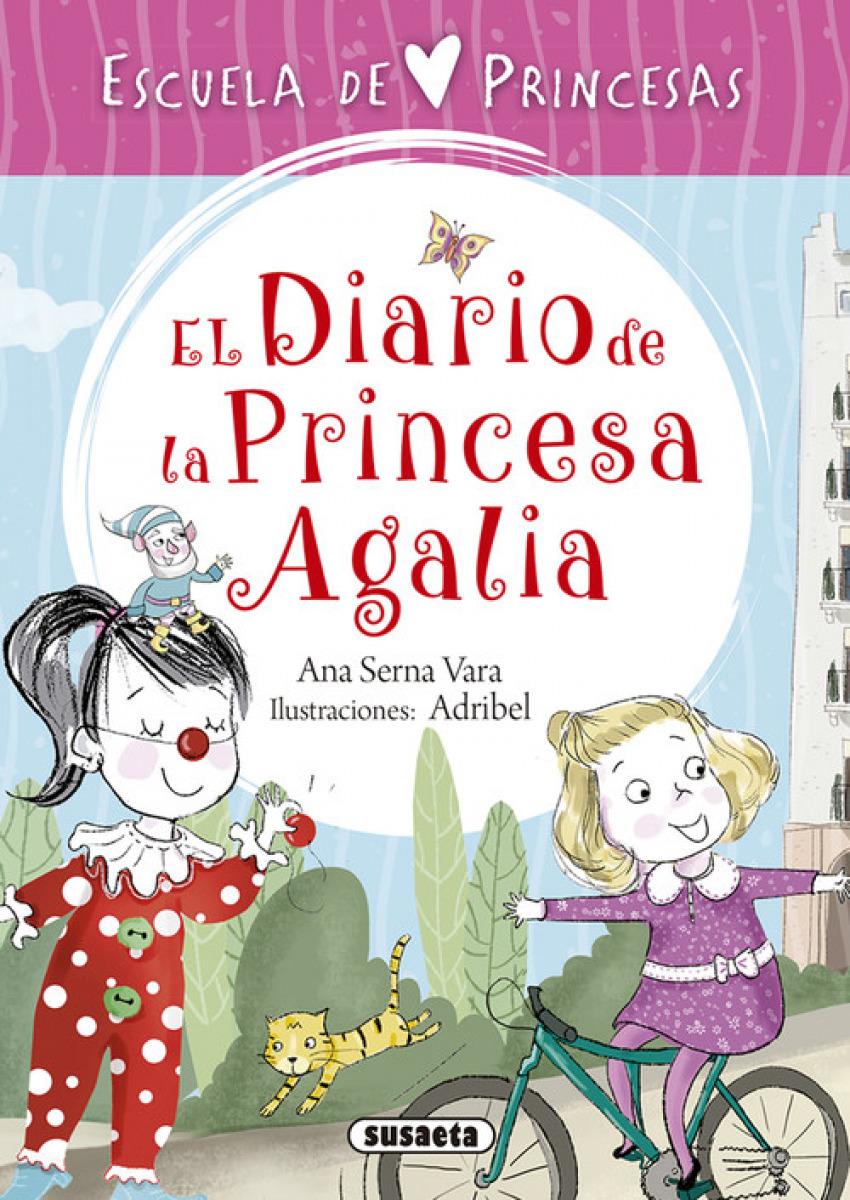 DIARIO DE LA PRICNESA AGALIA 9788467758337