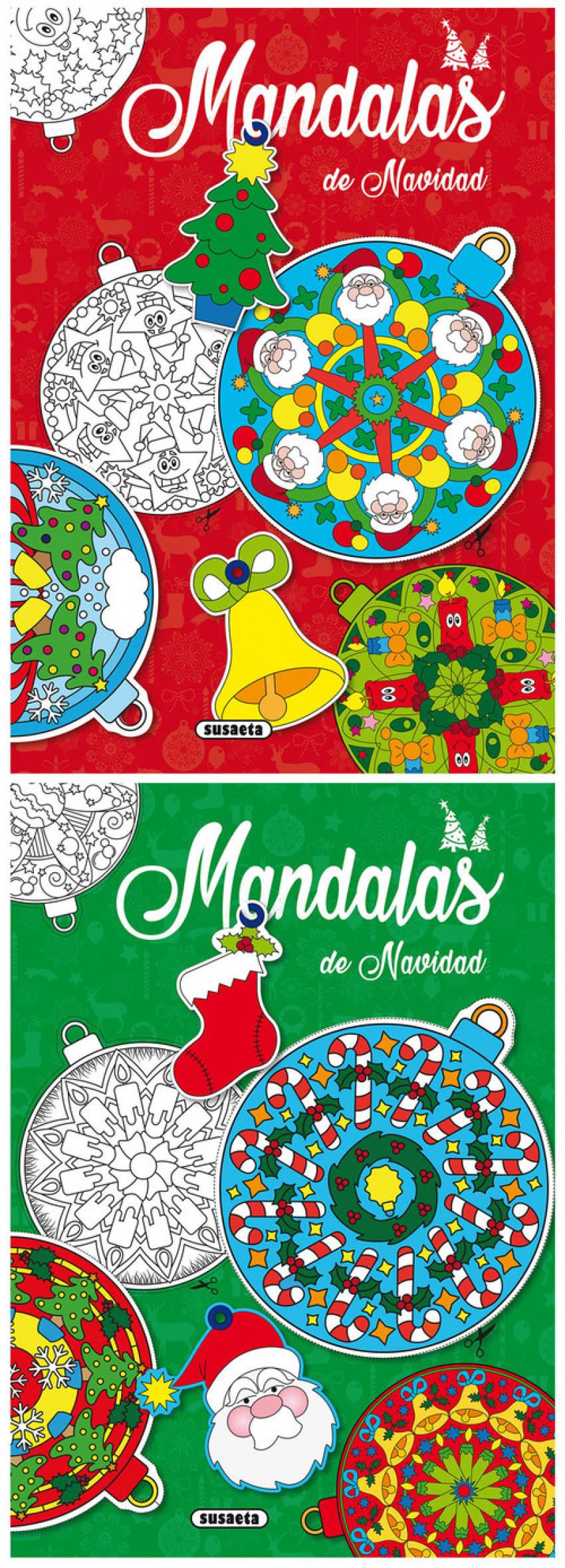 MANDALAS DE NAVIDAD 9788467758948