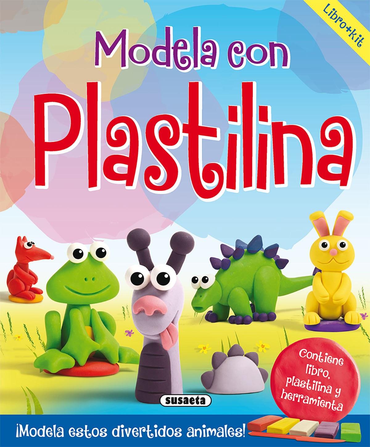 MODELA CON PLASTILINA 9788467759174