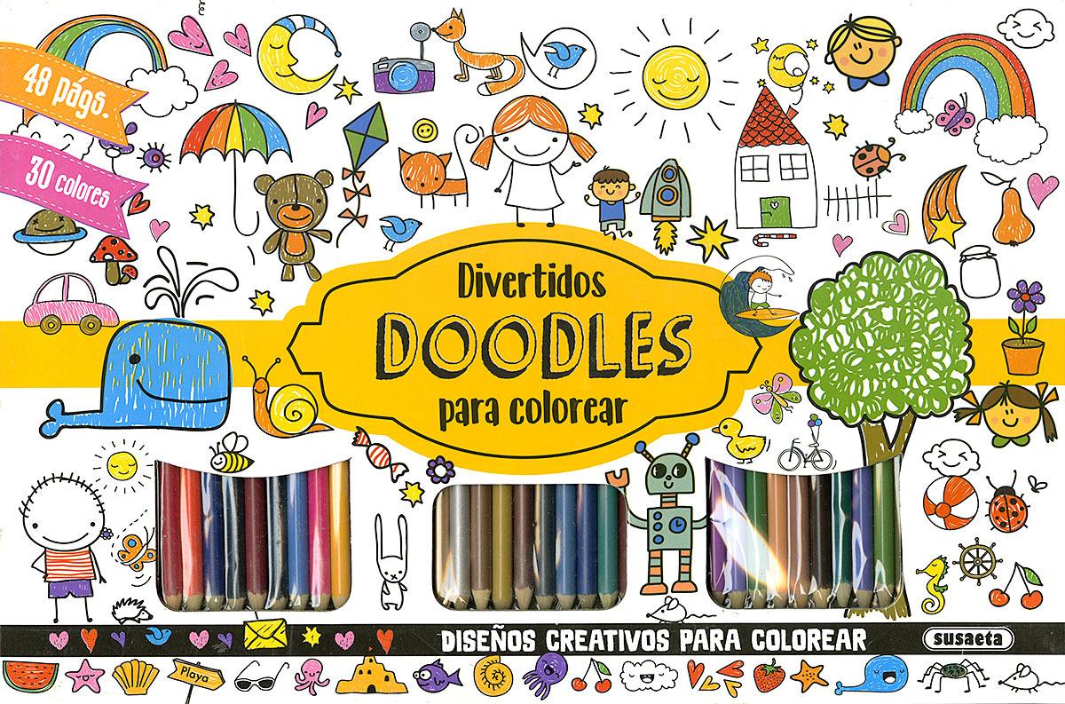 DIVERTIDOS DOODLES PARA COLOREAR 9788467765564