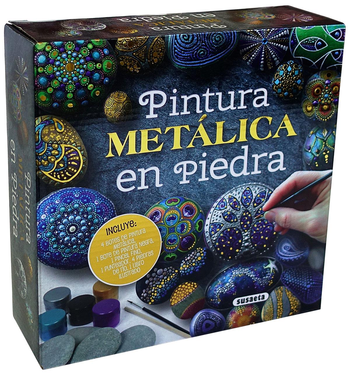PINTURA METÁLICA EN PIEDRA 9788467765892