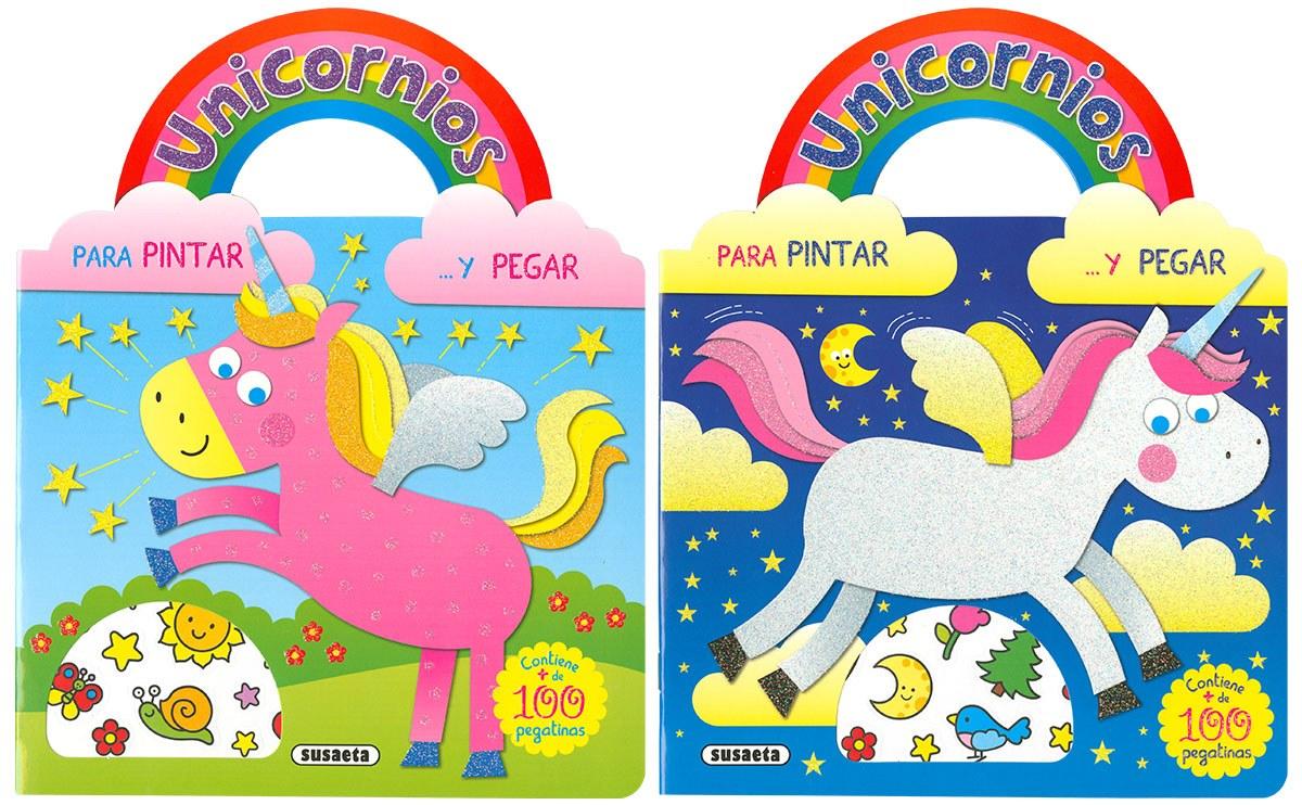 UNICORNIOS PARA PINTAR Y PEGAR SURTIDOS 9788467768626
