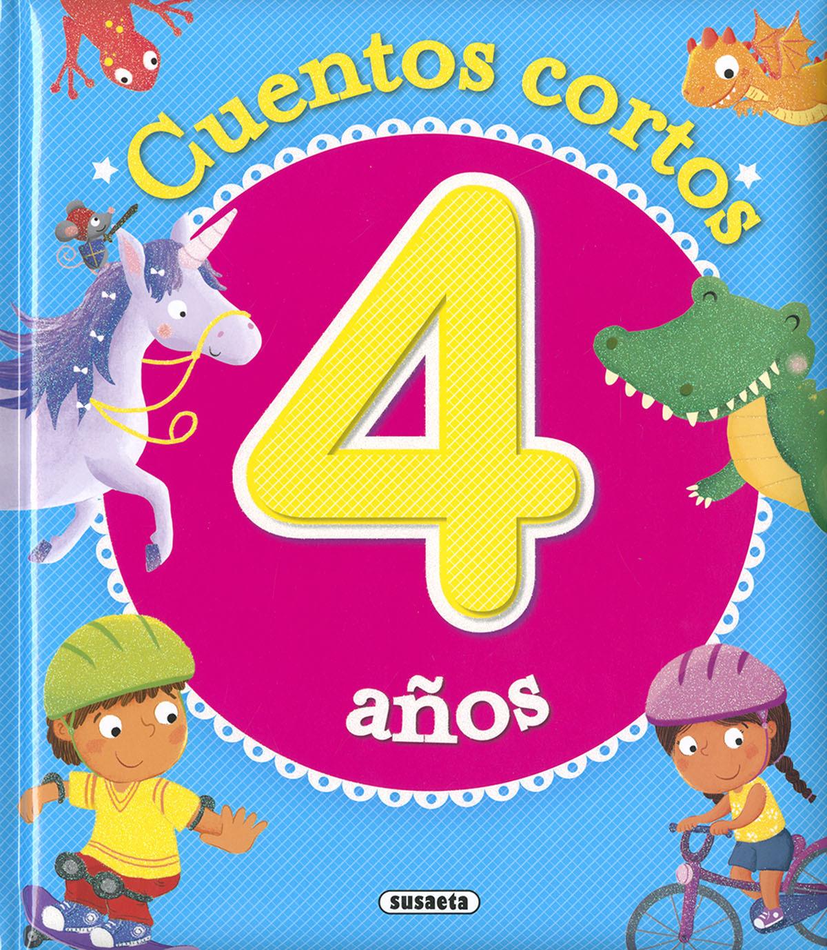 CUENTOS CORTOS PARA 4 AñOS 9788467768787
